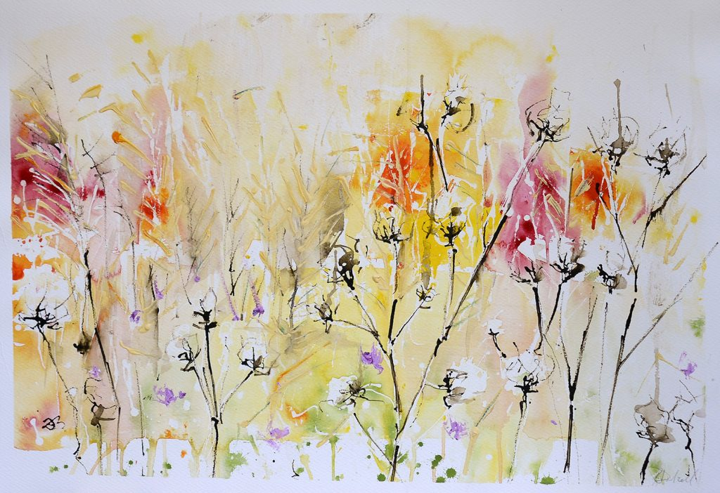 Warm summer colours - SOLD