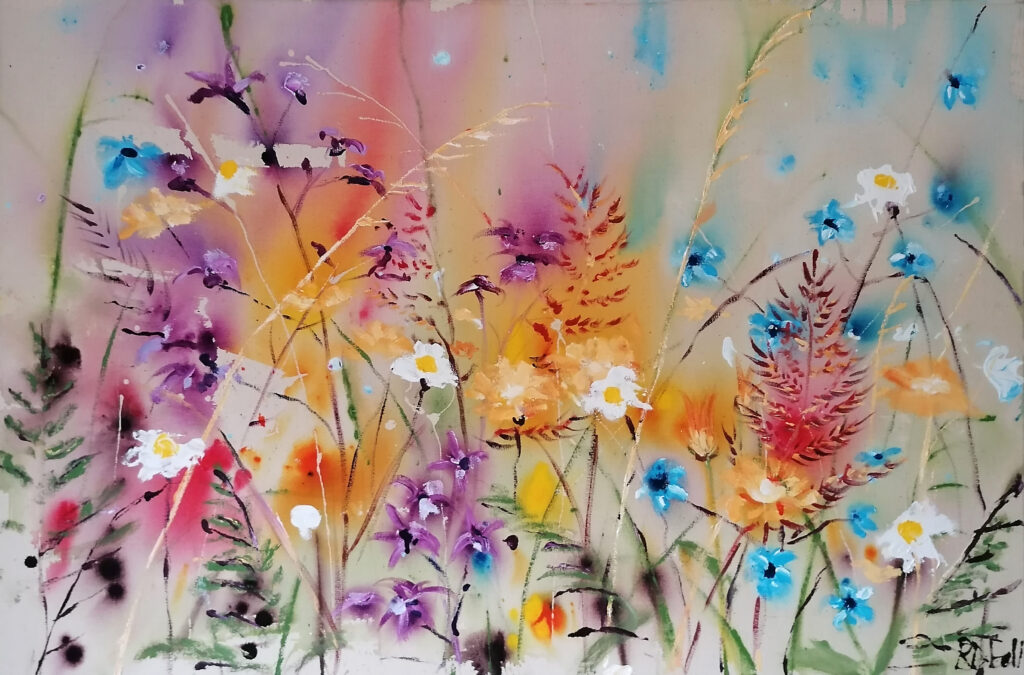 Natures sweet serenity 100 x 80 x 4cm - SOLD