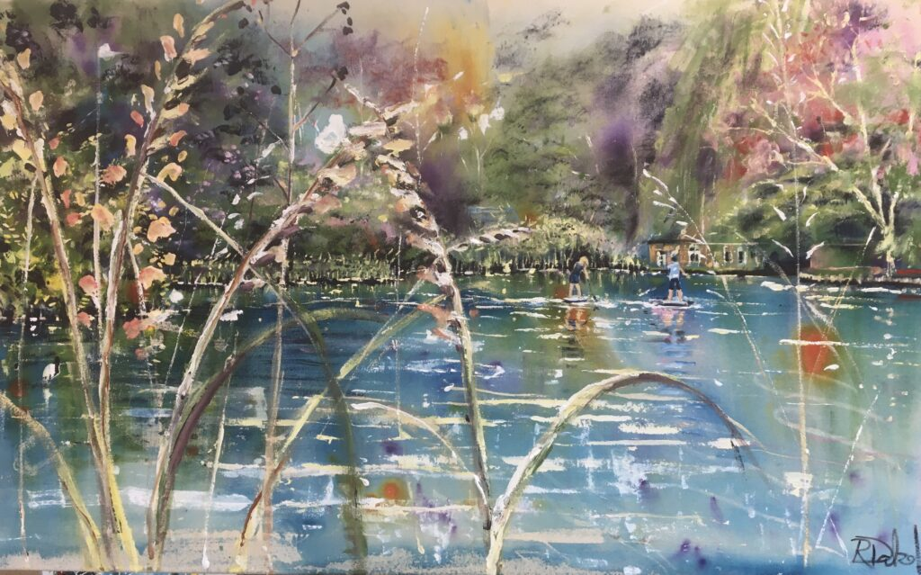 There is something of the marvellous 120 x 80cm x 4cm - SOLD