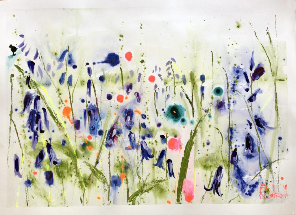 Bluebells by Rachael Dalzell