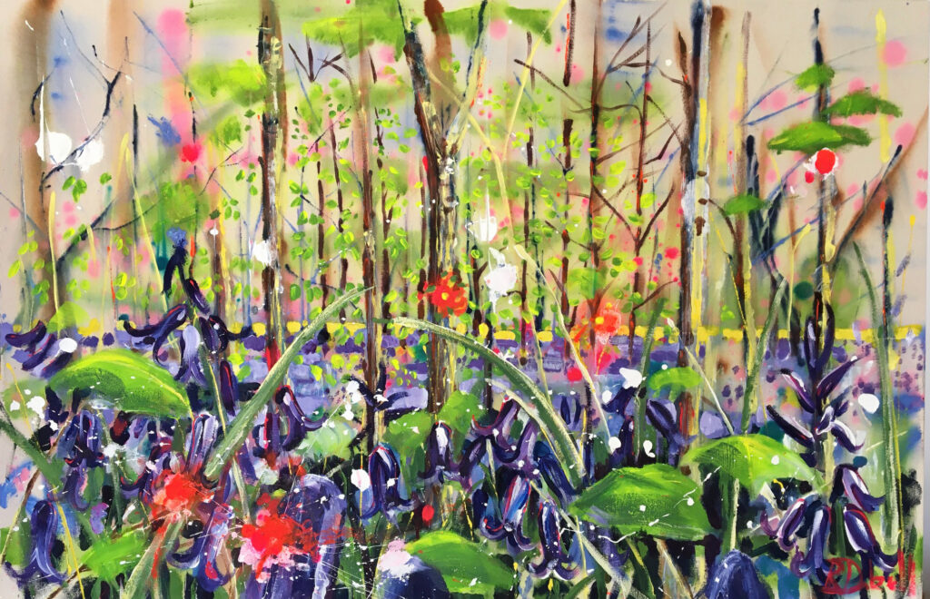 Bluebell wood by Rachael Dalzell