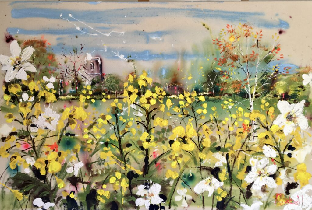 May in the Meadows painting by Rachael Dalzell